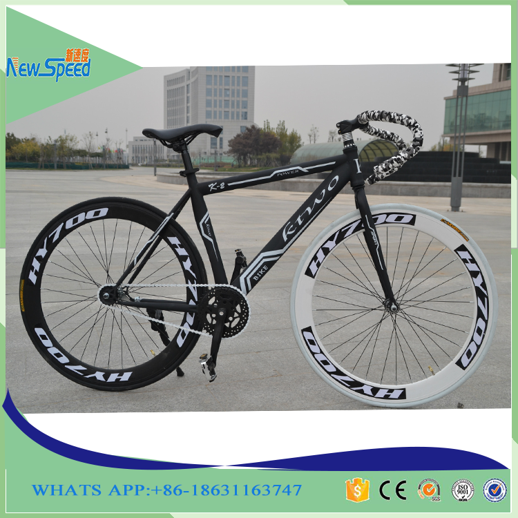 New design Steel 700C fixed gear bike / Fixie bicycle / Single speed dead fly bikes