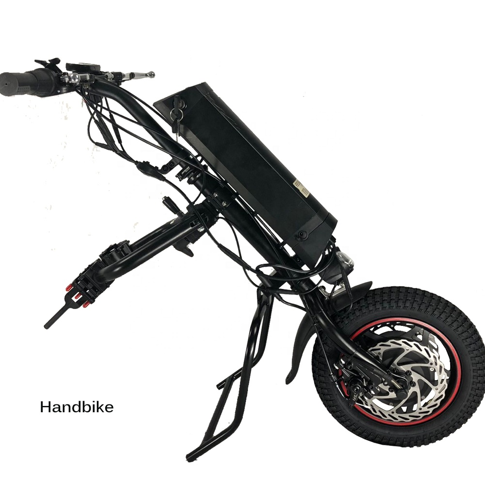 36v 350w electric wheelchair handbike handcycle with 10.4 ah lithium battery