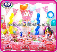 Wholesale Baby Girls 1st Birthday Theme Party Supply and Favor
