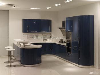 Hot Selling Round Edge Kitchen Cabinets Design