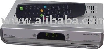Wholesale ClearView KSF220IR Digital Satellite Receiver with Licensed Irdeto digital satellite receiver full hd