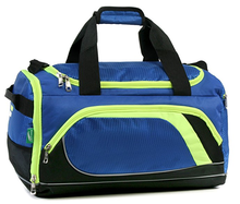 New In 600D Polyester Small Travel Gym Sport Custom Duffle Bag For Sale