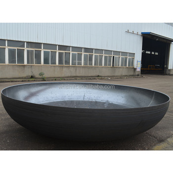 Dished Tank Large Steel Pipe End Cap for Water Pipe