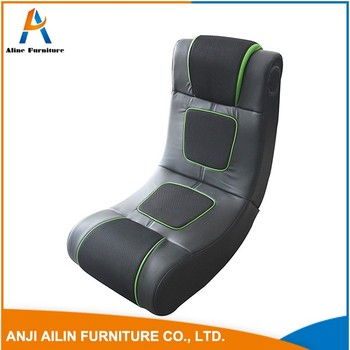 Popular Single Rocking Chair Easy Chair Floor Legless Chair