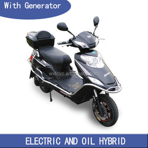 halley 2 seater covered electric scooter