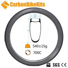 Carbonbikekits High quality 700c carbon road bike 25mm wide 58mm deep SP58C dimple clincher rims