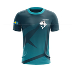 Low price Custom newest fabric fashion breathable moisture absorption quick dry e-sports gaming jersey