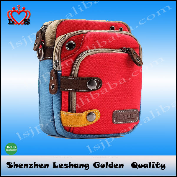Small and exquisite fashion a variety of color and style have inventory canvas camera bag