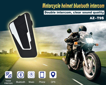 Hot Sale 1200M Motorcycle BT Bluetooth Interphone Headset Helmet Intercom Handfree Wireless Intercom with GPS