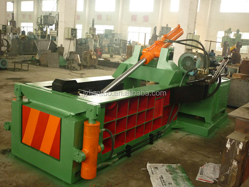 China made hydraulic metal baler