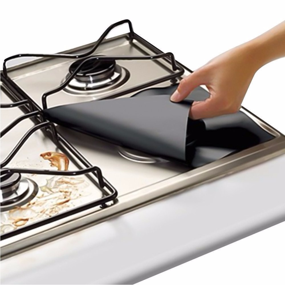 Hot Selling 2020 Gas Stove Burner Protector Cooking Stove Grill Mat