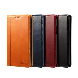 Buluby new good-value shockproof leather mobile phone protection cover flip shell card wallet case for iphone Xs hull