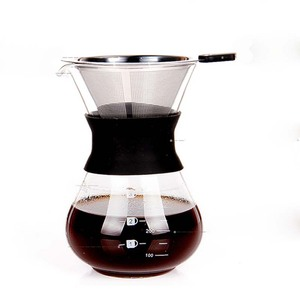 Borosilicate Glass Brewing Coffee Filter Pour Over Dripper coffee maker