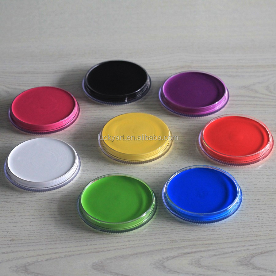 washable glow in the dark face paint on card buy face painting glow. Black Bedroom Furniture Sets. Home Design Ideas