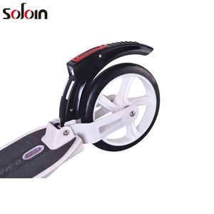 Mini Scooter White/Black E-Scooter Electric Kick Scooter For Adult