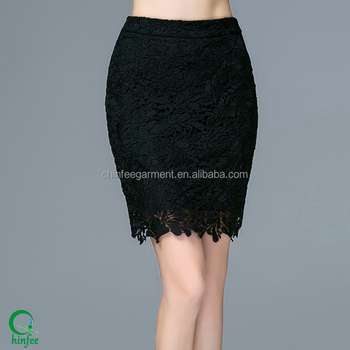 c1798cb8a Lady Short Skirt Designs Short Tight Black Lace Office Skirts - Buy ...