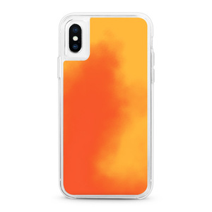 Neon TPU PC Hybrid Mobile Phone Back Cover Liquid Sand Case For iPhone XS MAX