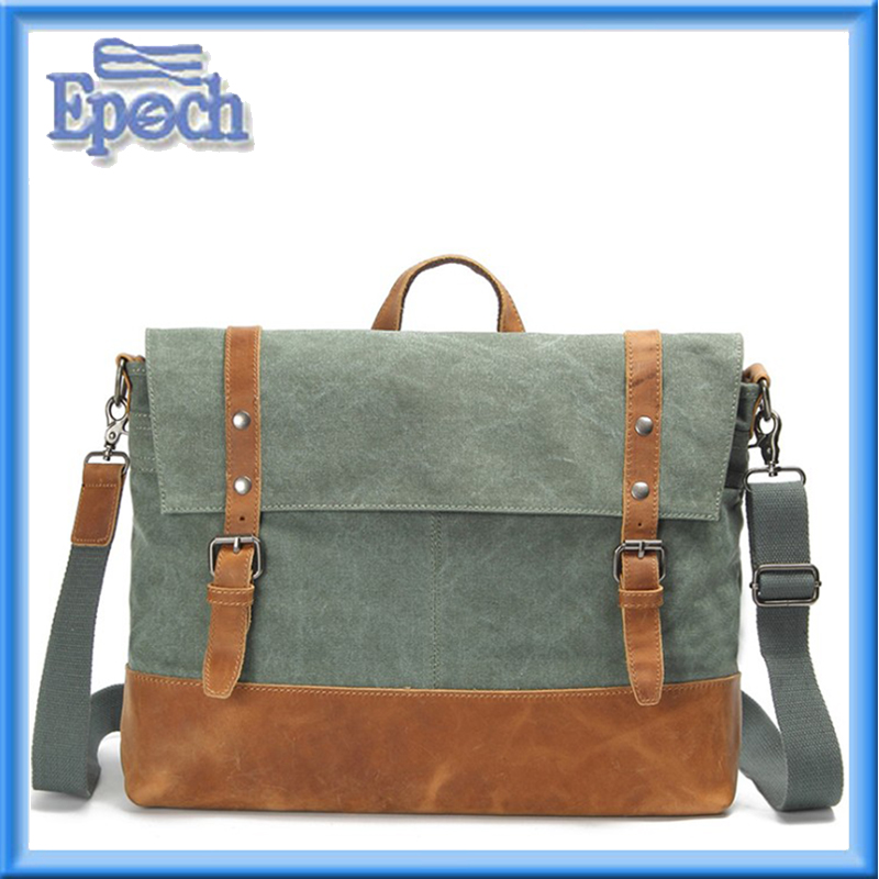 EPOCH Vintage Military Messenger Bag Canvas Tactical Ammo Style Shoulder Field Bag