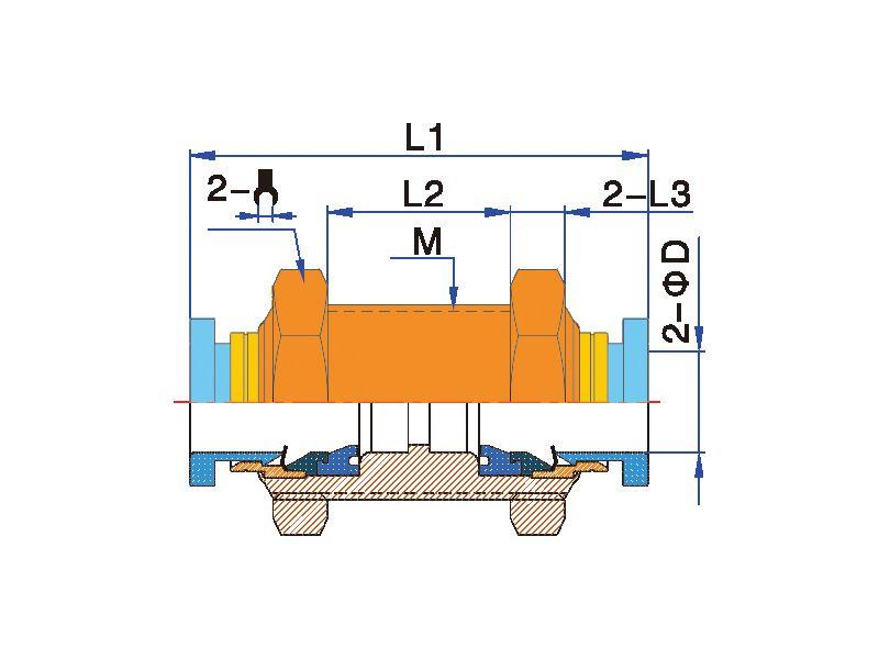 4/6/8/10/12 Mm Satu Sentuhan Tekan untuk Menghubungkan Kuningan Bulkhead Fitting