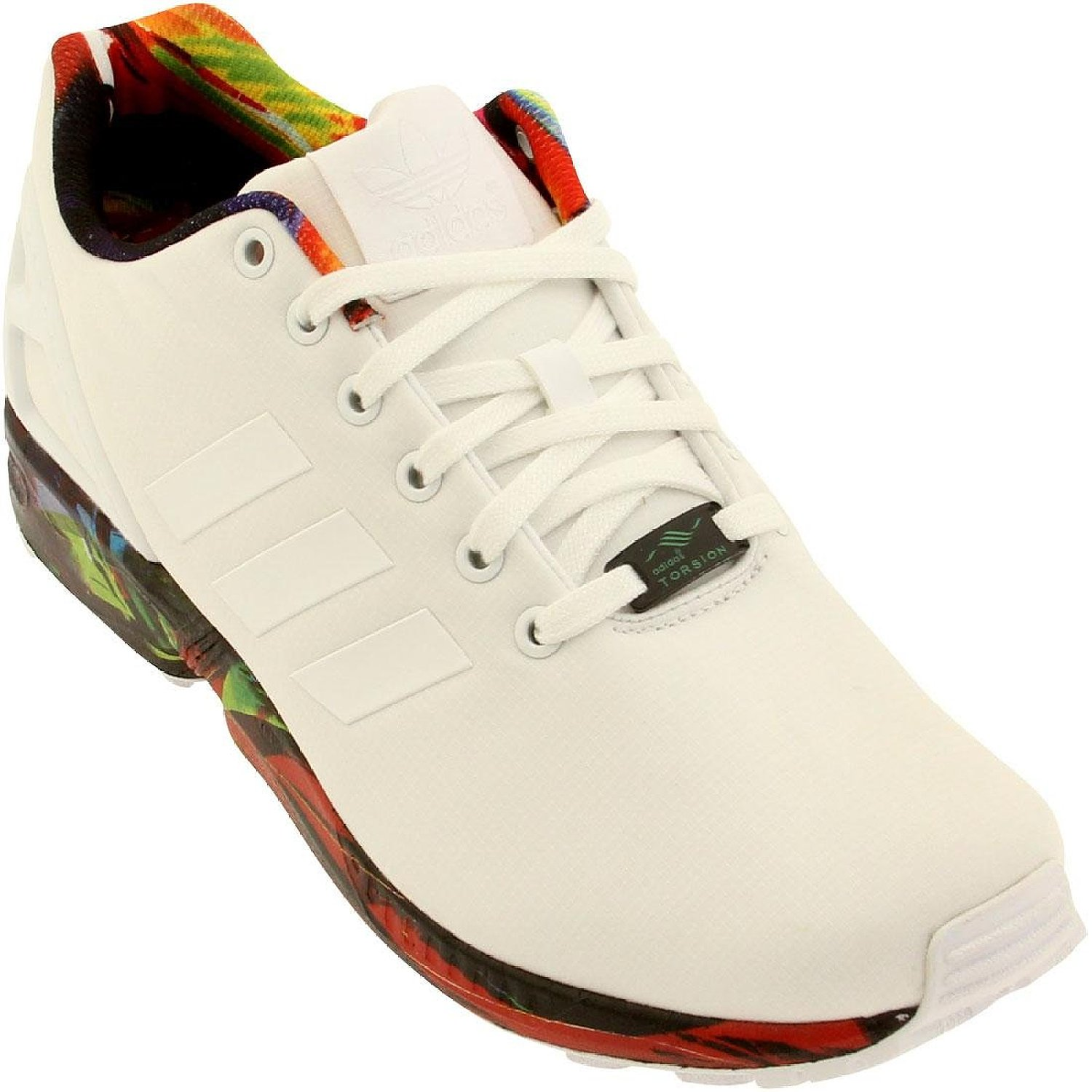 07f6749ca Get Quotations · adidas Men s ZX Flux Synthetic Running Shoes