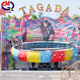 Crazy disco turntable theme park rides giostre tagada for sale