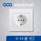 European Standard PC Panel electrical wall switch Germany socket
