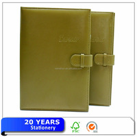 A4 Leather Planner With Ring Binder,10 year Japanese Planner Notebook