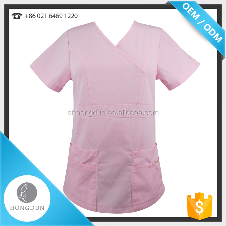 wholesale high quality medical uniform scrub women nurses uniforms scrubs designs medical scrubs suit for 2018