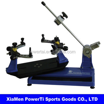 used tennis racket stringing machine