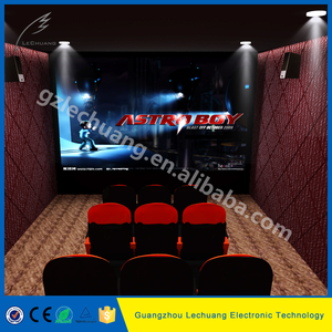 2017 big discount fragrance effect electrical mini 7d cinema projector for sale