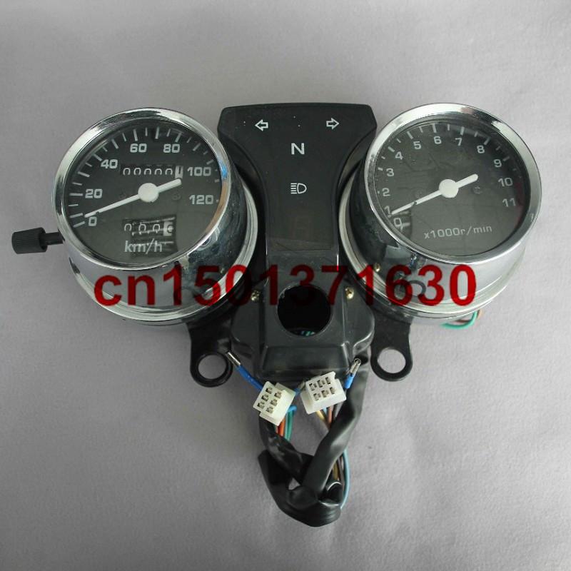 Мотоциклов спидометр датчики тахометр пробега CM125 новый