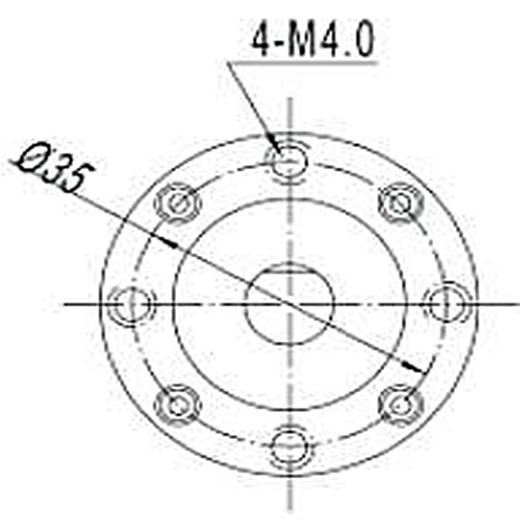 32w 3470rpm 900g Cm High Rpm Low Torque Permanent Magnet Gear Box