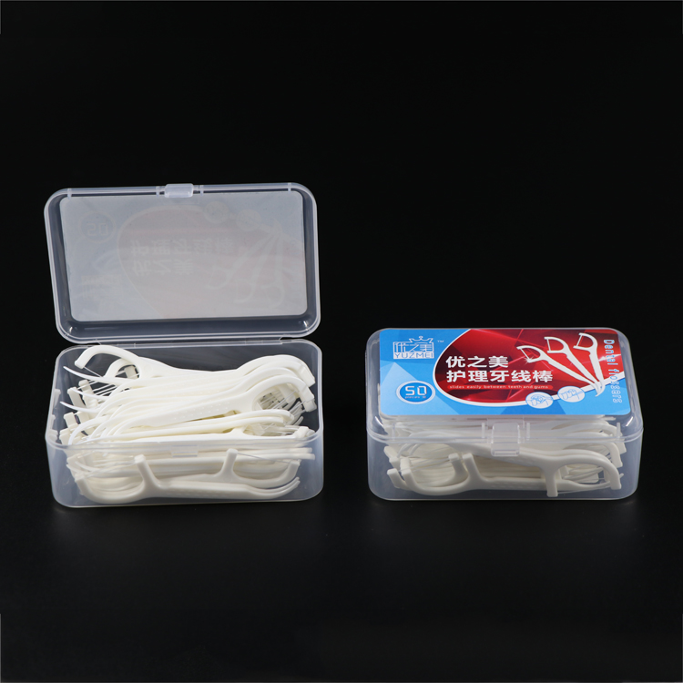 Hot Selling 50 stks/pak Oral Care Dental Floss Kit