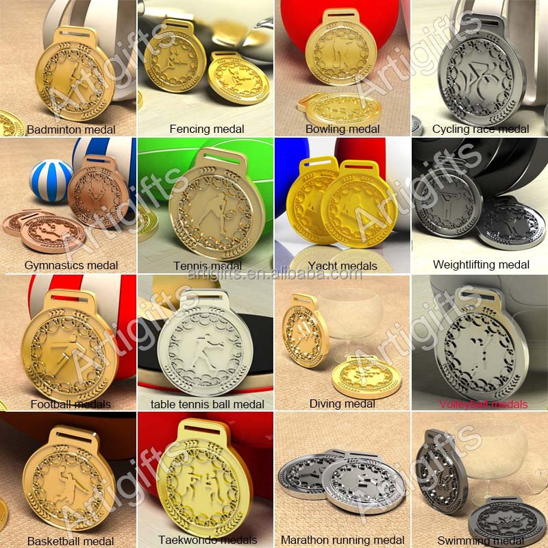 Free design zinc alloy medal for cheap price