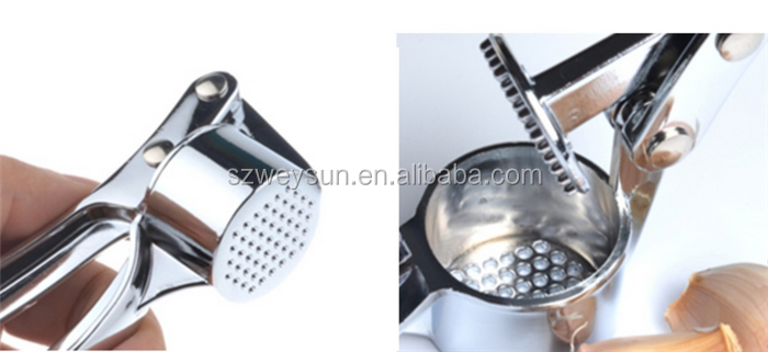 Stainless Steel Ginger Garlic Press