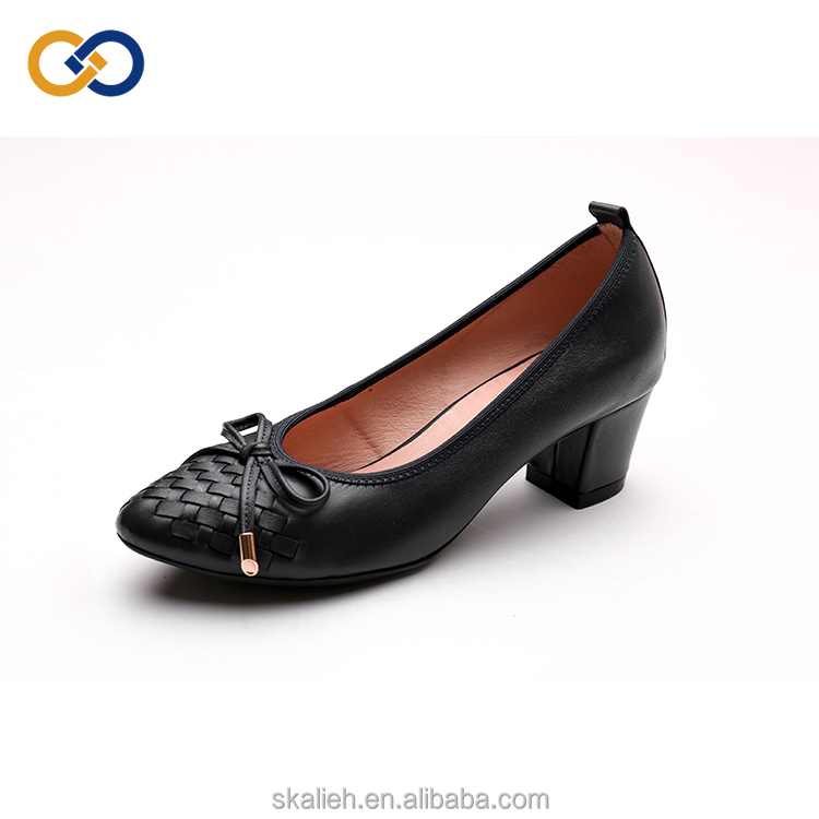 summer shoes woman Top shoes quality bowknot with high ladies heel heels chunky shoes season HnqYEUPq