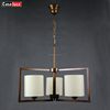Iran people favourite brass color fabric chandeliers pendant lights