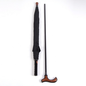 Walking Stick Gentleman Umbrellas Wholesale For Oldman