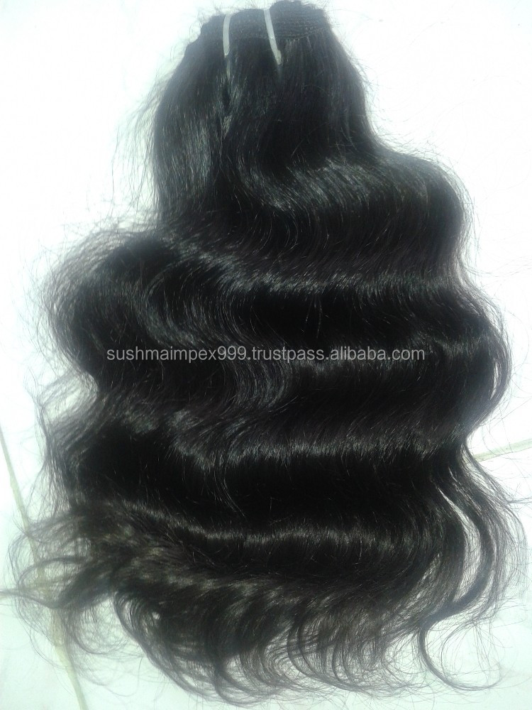 UN PROCESSED REMY VIRGIN INDIAN HUMAN HAIR WAVE NATURAL COLOR SUPPLIERS IN CHENNAI