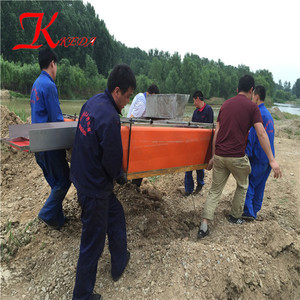 Small Gold Mining Pontoon Dredger for Sale