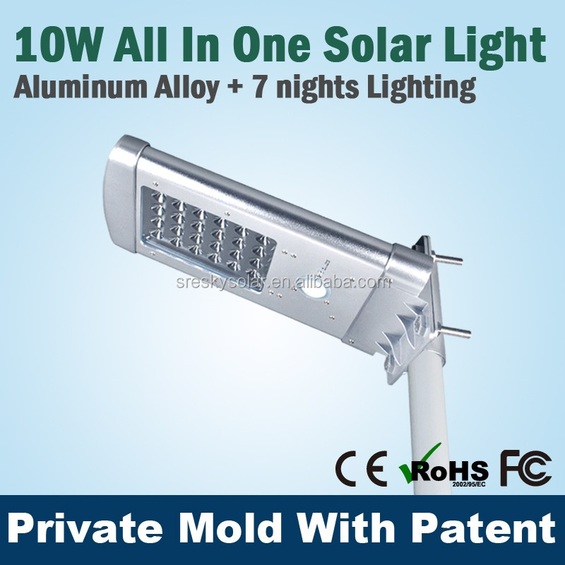 Innovative Runway Motion Control Solar Light 5W System Kits