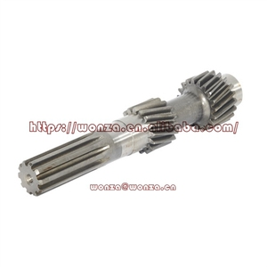 High Precision CNC Machining Helical Teeth Shaft for Automobile