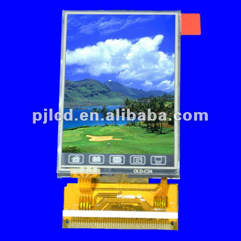 2.8 inch xga tft lcd with resolution 240*320(PJ28004C)