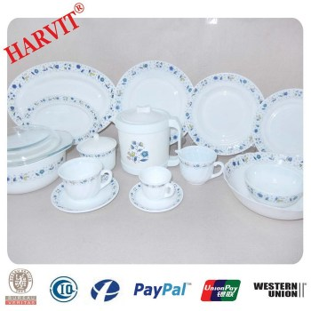 Good Antique Style Dinnerware Colored Glassware Set Ceramic Dinner Sets UK All Kinds of Glassware Set  sc 1 st  Alibaba : mexican tableware uk - pezcame.com