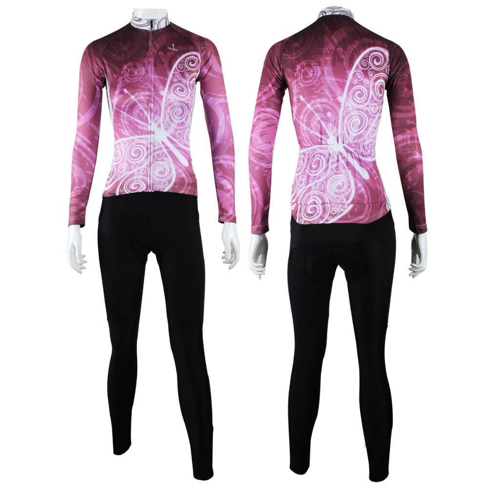9c4e57e2c Get Quotations · 2015 mtb rope ciclismo new women quick dry breathable long  sleeve cycling suit paladincycling clothing sport