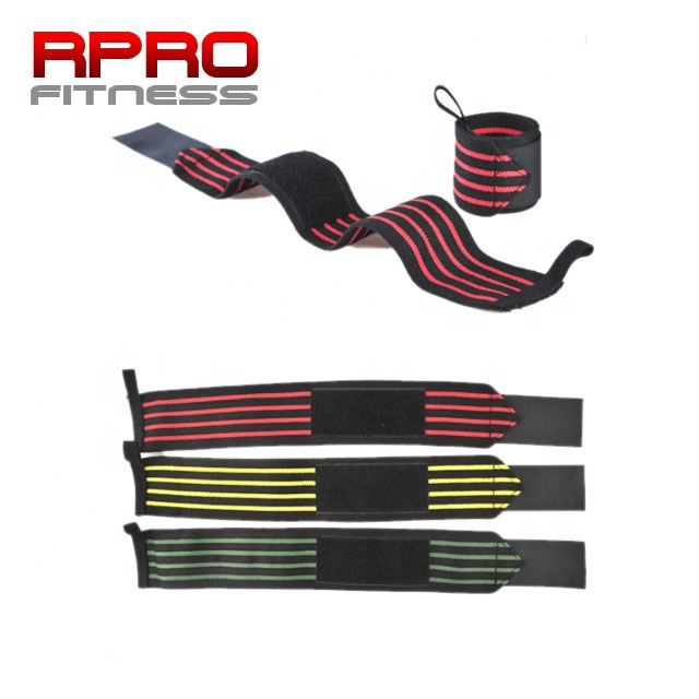 18&quot; Professional Grade with Thumb Loops <strong>Weight</strong> Lifting Training Wrist Wraps Support
