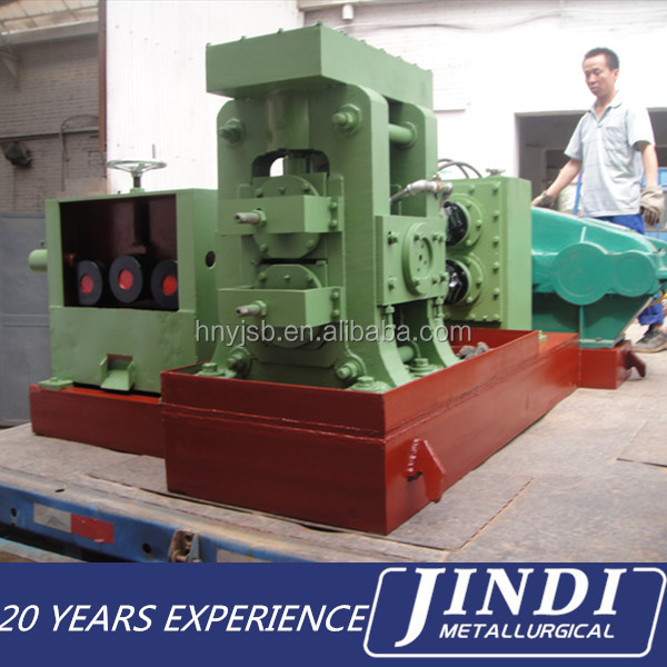 High speed spiral steel rod making machine