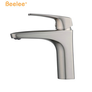 Wholesale Brass Brushed Nickel Deck Mounted Bathroom Aqua Faucet