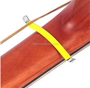 1 pair Guitar Bass String Spreader For Polish Cleaning Fretboard Fret Care Luthier Tool