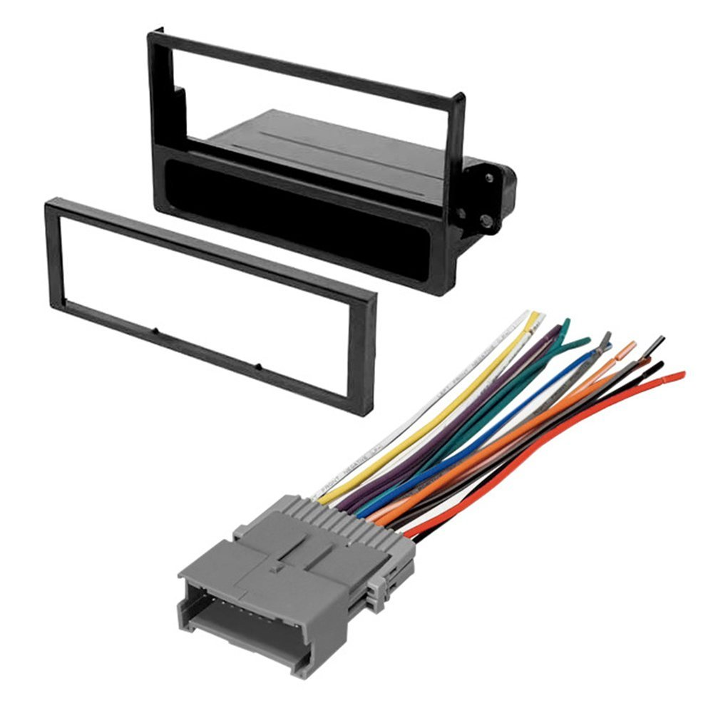 Cheap Wiring Harness Kit For Car Stereo Find Get Quotations Radio Dash Installation Mounting Trim Bezel W Select Saturn